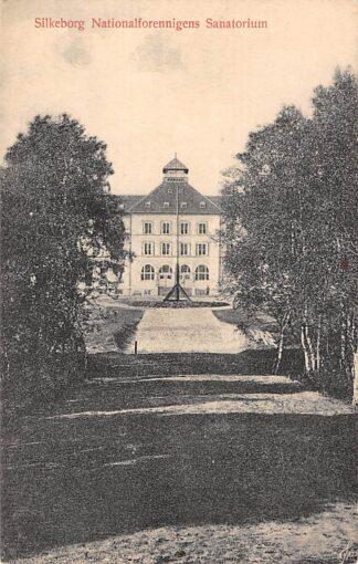 Ansichtkaart Denemarken Silkeborg Jutland Nationalforennigens Sanatorium Danemark Europa HC11193