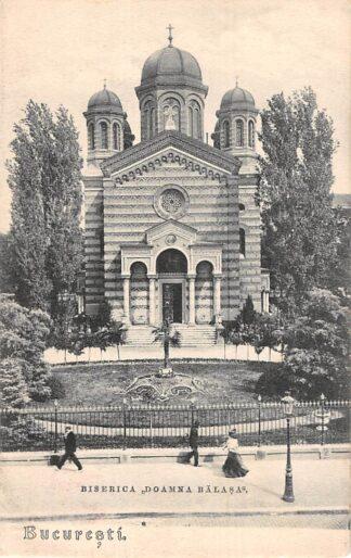 Ansichtkaart Roemenië Bucaresti Biserica Doamna Balasa Romania Europa HC11194