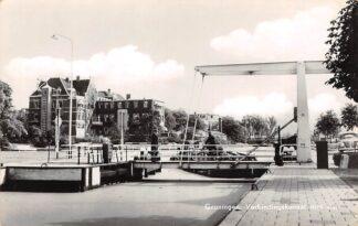 Ansichtkaart Groningen Verbindingskanaal met sluis 1965 HC11218