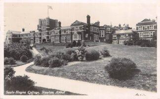 Ansichtkaart Engeland Newton Abbot Seale-Hayne College 1932 Fotokaart England Great-Britain Europa HC11251
