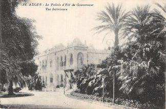 Ansichtkaart Algerije Le Palais dÉte du Gouverneur Vue Interieure Alger Afrika HC11253