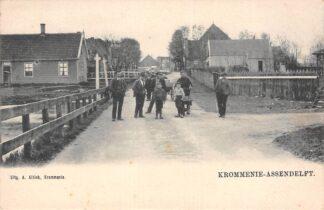 Ansichtkaart Krommenie Assendelft Dorpsgezicht HC11266