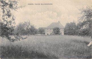 Ansichtkaart Ingen Huize Blijwerven 1925 Buren (GD) Betuwe HC11279