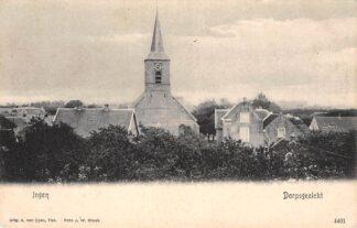 Ansichtkaart Ingen Dorpsgezicht voor 1906 Buren (GD) Betuwe HC11280