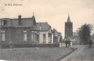 Ansichtkaart Sexbierum De Terp 1918 Bij Franeker HC11335