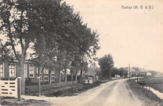 Ansichtkaart Oudega (H. O. & N.) Hemelumer Oldeferd en Noordwolde De Friese Meren 1919 HC11336