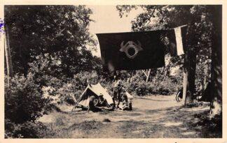 Ansichtkaart Heemstede Groenendaal Rally 1947 Ruige Hoek Rally stempel A.N.W.B. N.T.M.C. HC11361