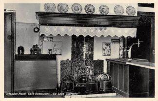 Ansichtkaart Lage Vuursche Interieur Hotel Café-Restaurant De Lage Vuursche 1933 HC11372