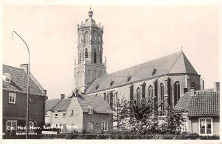 Ansichtkaart Elst (GD) Ned. Herv. Kerk met Toren 1956 HC11382