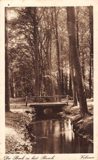 Ansichtkaart Nunspeet De Beek in het Bosch Veluwe 1926 HC11384