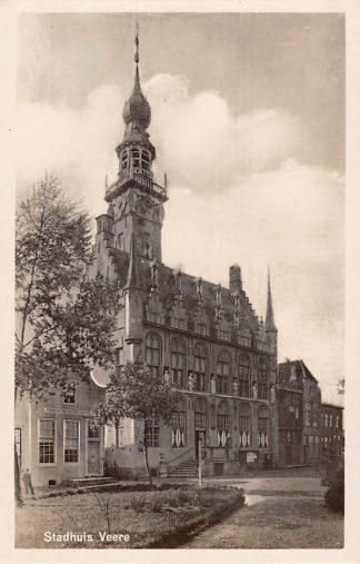 Ansichtkaart Veere Stadhuis Noord-Beveland HC11389