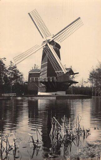 Ansichtkaart Numansdorp Paltrok Houtzaag molen in Openluchtmuseum Arnhem 1951 HC11395