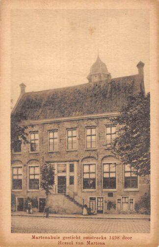 Ansichtkaart Franeker Martenahuis gesticht omstreeks 1498 door Hessel van Martena HC11404