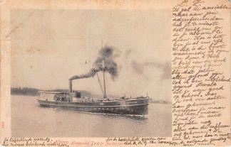 Ansichtkaart Hoorn Hoornsche Boot Vereeniging in Zuiderzee Scheepvaart Schepen 1903 HC11427
