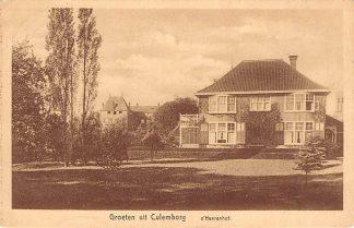 Ansichtkaart Culemborg Groeten uit 1931 's Heerenhof HC11428