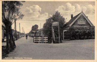 Ansichtkaart Gouda Wethouder Venteweg Kruising Zwarteweg Achterwillens en Graaf Florisweg Reeuwijk HC11445