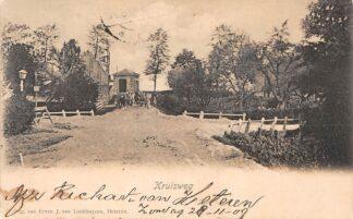 Ansichtkaart Buurmalsen Kruisweg begin 1900 Betuwe Geldermalsen HC11451