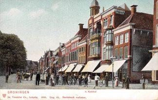 Ansichtkaart Groningen A-Kerkhof 1905 HC11511