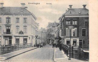 Ansichtkaart Groningen A-Straat 1903 HC11578