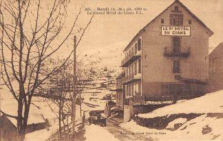 Ansichtkaart Frankrijk Beuil (A.-M.) Le Grand Hotel du Cians F.L. Reclame achterzijde France Europa HC11584
