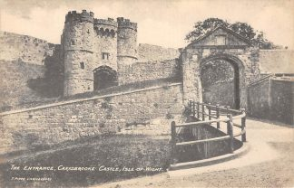 Ansichtkaart Engeland Isle of Wight Carisebrooke Castle England Great-Britain Europa HC11587