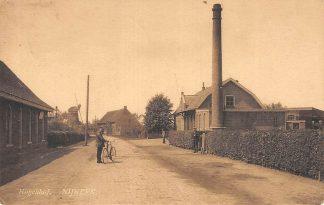Ansichtkaart Nijkerk Hogenhof Zuivelfabriek de Volharding en de Westermolen Molen 1916 HC11600