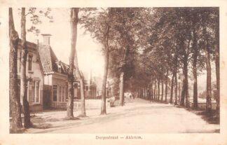 Ansichtkaart Akkrum Dorpsstraat 1920 Heerenveen HC11603