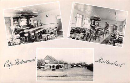 Ansichtkaart Willeskop bij Oudewater Café Restaurant Buitenlust 1960 HC11605