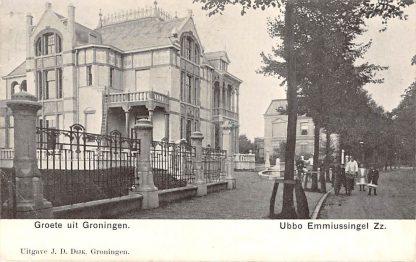 Ansichtkaart Groningen Ubbo Emmiussingel Zz HC11621