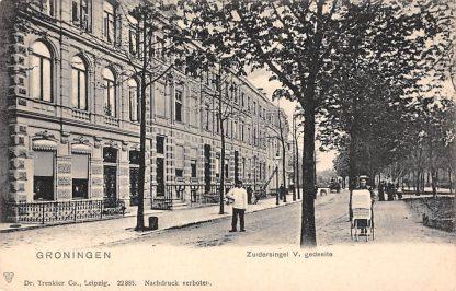 Ansichtkaart Groningen Zuidersingel V - gedeelte HC11622