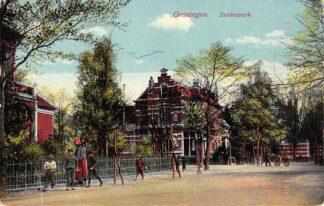 Ansichtkaart Groningen Zuiderpark 1913 HC11624