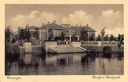 Ansichtkaart Groningen Paviljoen Stadspark 1936 HC11626
