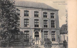 Ansichtkaart Schoonhoven Gereformeerd Weeshuis 1910 Van Nooten No. 455 HC11661