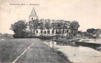 Ansichtkaart Buitenpost Hervormde Kerk 1911 HC11670