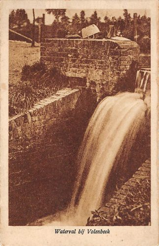 Ansichtkaart Putten Waterval bij Volenbeek 1927 HC11694