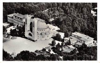 Ansichtkaart Heilig Landstichting Coenakelkerk met Pastorie en Pelgrimshuis 1955 Nijmegen HC11699