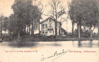 Ansichtkaart Alblasserdam Hof Souburg 1902 Van Nooten No. 190 HC11728
