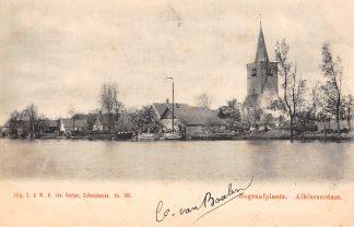 Ansichtkaart Alblasserdam Begraafplaats 1902 Van Nooten No. 189 HC11730