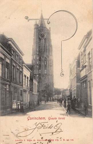 Ansichtkaart Gorinchem Groote Toren HC11751