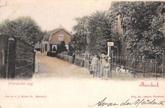 Ansichtkaart Meerkerk Noordsche weg 1902 Alblasserwaard HC11752