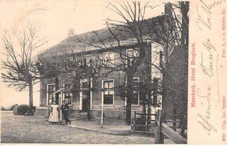 Ansichtkaart Meerkerk Hotel Brughuis 1905 Alblasserwaard HC11753