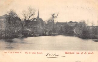 Ansichtkaart Meerkerk van af de Kade 1902 Alblasserwaard HC11755
