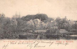 Ansichtkaart Meerkerk Gezicht op Meerkerk 1902 Alblasserwaard HC11757