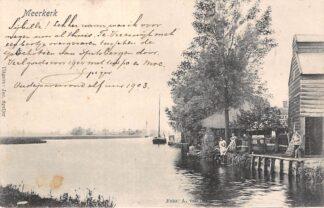 Ansichtkaart Meerkerk 1904 Alblasserwaard HC11759