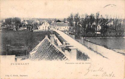 Ansichtkaart Zoetermeer Zegwaart Panorama van af de Molen 1903 HC11766