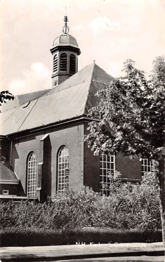 Ansichtkaart 's-Gravenzande N.H. Kerk 1963 Westland HC11773