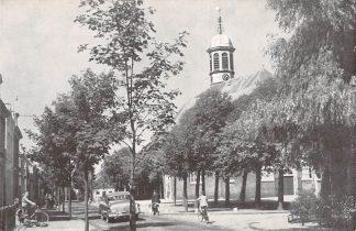 Ansichtkaart 's-Gravenzande Nederlandse Hervormde Kerk Auto HC11778
