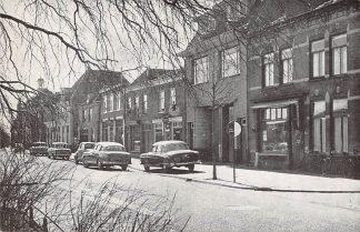 Ansichtkaart 's-Gravenzande Langestraat Sigarenmagazijn auto HC11779