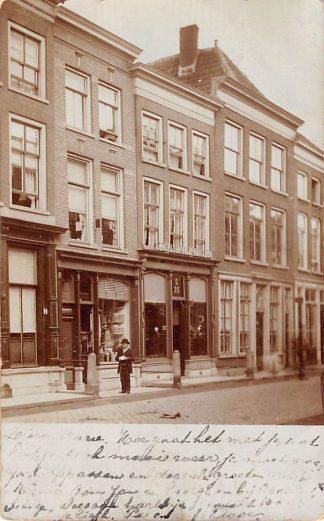 Ansichtkaart Gorinchem Engelsche Hoedenmagazijn 1907 Fotokaart HC11782