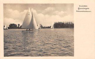 Ansichtkaart Paterswolde Omstreken Groningen Paterswoldschemeer Zeilen 1935 HC11800